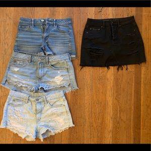 American Eagle shorts and pants